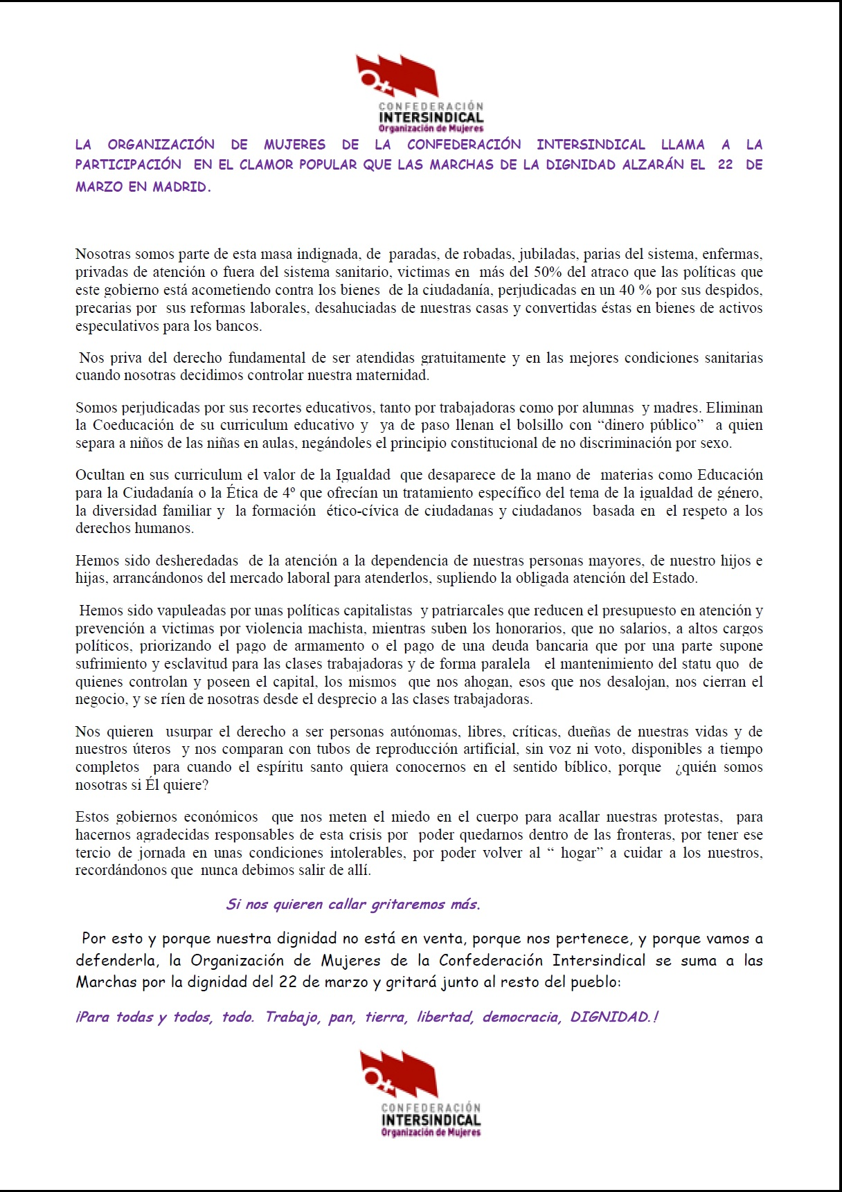 22M2014_comunicadoOMmarchas