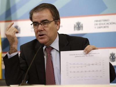 Federico Morán Abad. Secretario General de Universidades